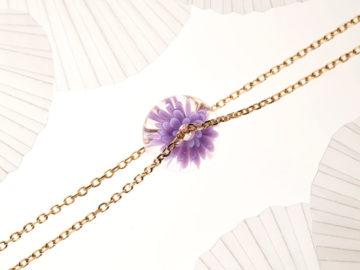 Saint-Valentin : Dentelle-Givrée vous propose des bijoux d'inspiration florale