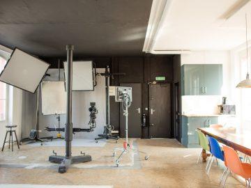 Gare des vallées (92) : un studio Photo !