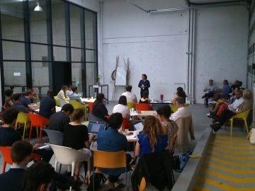 Pitch d'entrepreneurs de l'ESS organisés par les clubs d'investisseurs CIGALES chez Intencity à Clichy