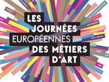 Journées Européennes des Métiers d'Art : appel à candidatures