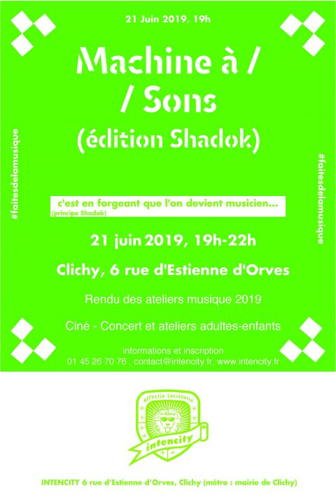 machine à sons 2019
