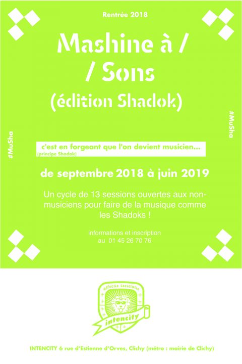 machine à sons 2018