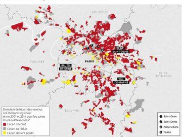 À lire : Les fractures territoriales de l'Ile-de-France ont crû en 15 ans