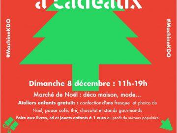 Marché de Noël : «Machine à cadeaux 2019» le dimanche 8 décembre